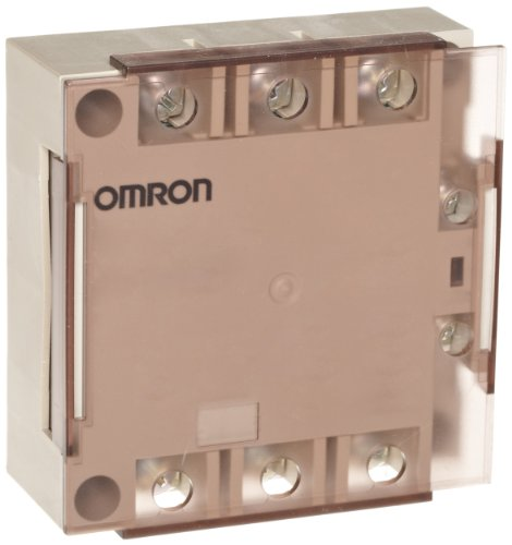 Omron G3PE-245B-2H DC12-24 Solid State Relay for Heaters, Zero Cross Function, Yellow Indicator, Phototriac Coupler Isolation, Triple-Phase, Externally Attached Heat Mounting, 2 Poles, 45 A Rated Load Current, 100 to 240 VAC Rated Load Voltage, 12 to 24 VDC Input Voltage