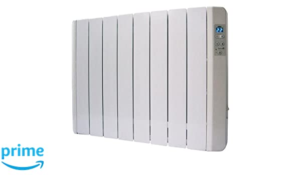 Garza Emisor Térmico - Radiador de 4 elementos de termo fluido, potencia 500W: Amazon.es: Hogar