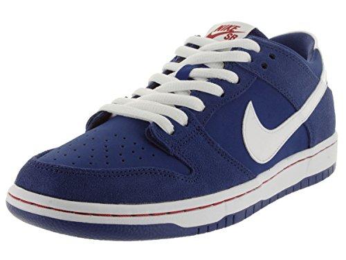 da Bianco Deep Nike Iw Royal Uomo Dunk Low Scarpe Skateboard Red gym Blu Rosso Pro White UnpXP