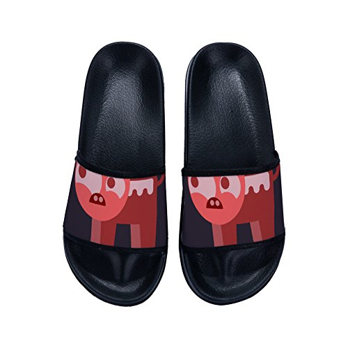 Buteri Animals Womens Slippers Carton Slippers Slip for Summer Quick Non Family Cute Breathable Drying UpwpqOtr