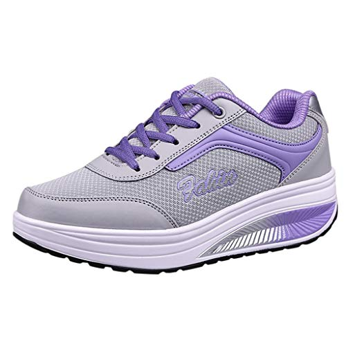 Lloopyting Women's Athletic Walking Shoes Casual Mesh anDfG
