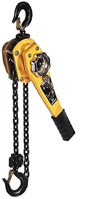 All Material Handling LC015-20 Badger Lever Chain Hoist, 1.5 Ton, 20' Lift