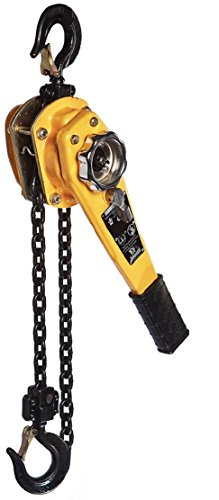 All Material Handling LC008-10 Badger Lever Chain Hoist, 3/4 (0.75) Ton, 10' ()