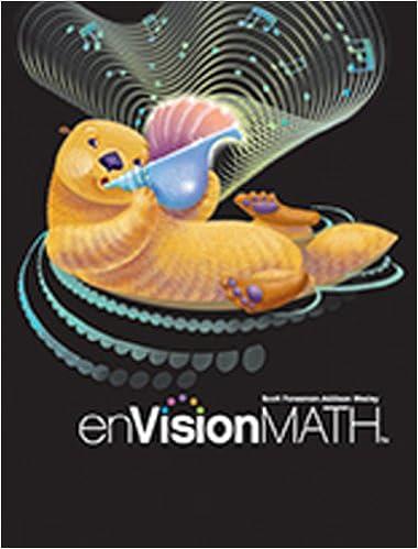 Envision Math Grade 3 Scott Foresman 9780328489725 Amazon Com Books