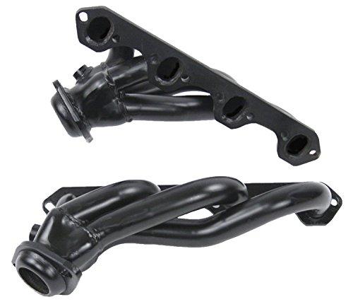 (PaceSetter 70-1324 Black Shorty Exhaust Header)