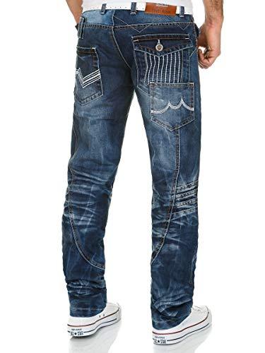 Men Blue Kosmo Trousers Jeans Lupo xOqPI5w8Sn