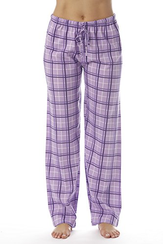 Just Love Women Plaid Pajama Pants Sleepwear 6324-PUR-10281-M