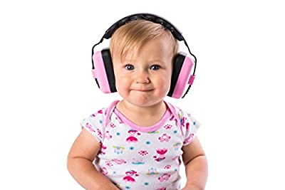 Little Llama Baby 6 months to 4 years old Hearing Protection Ear Muffs - Super Comfortable Noise Reduction and Ear Protection for your Infant Toddler and Child