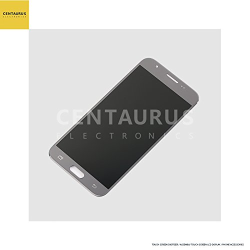 For Samsung Galaxy J3 2017 Prime SM-J327 J327R4 J327T1 J3 Amp Prime 2 SM-J327AZ J3 Emerge J327A J327P J3 V 2017 J327V J327VPP 5 LCD Display Touch Screen Digitizer (Silver-touch + lcd)