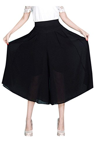 Confortable Saoye Jupe Elgante Fashion Vtements Jupe Pantalon 6 Pantalon Fille Et Loisir Haute Palazzo Colour Large Pantalons Pantalon Imprim Mode Femme Taille Bouffant rfaTrSWq