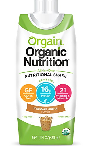 Orgain Organic Nutrition Shake Packaging product image