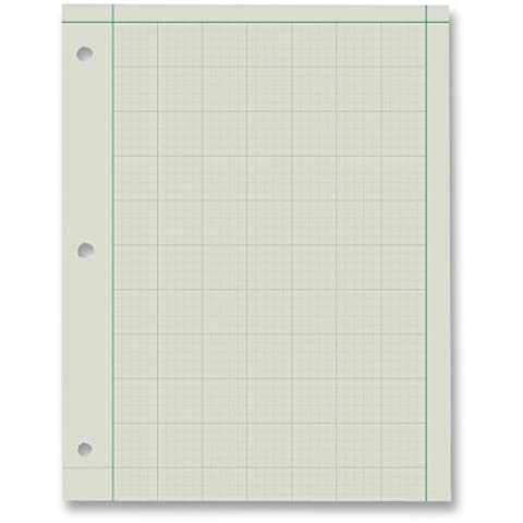 Ampad Green Tint Engineers Quadrille Pad - 200 Sheet - 15 lb - Ruled - Letter 8.50quot; x 11quot; - Green Tint - Ampad Green Tint Engineer Pads