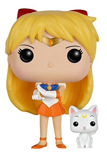 Funko - POP Anime - Sailor Moon - Venus w/ Artemis