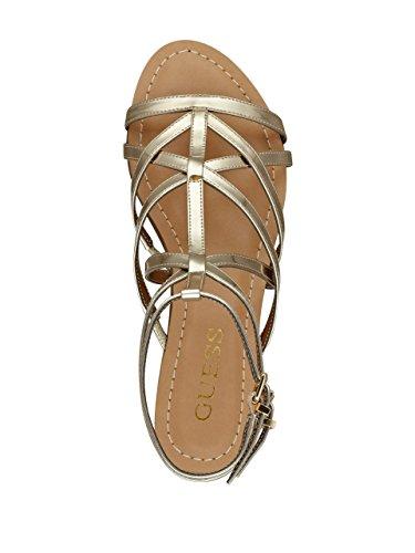 Sandals GUESS Mannie Mannie Gladiator Gold GUESS rwwxSqnaI