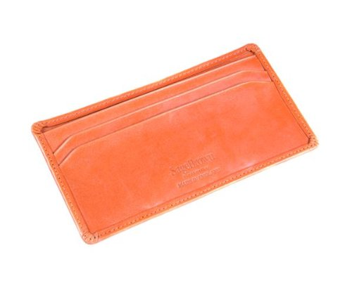 SAGEBROWN London Tan Bridle Hide Dress Wallet by Sage Brown