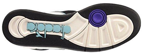 Diadora Basket 80 Act - Zapatillas abotinadas Unisex adulto Bianco/Multicolore