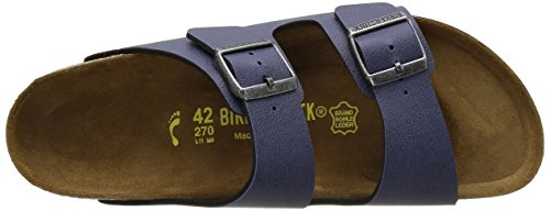 Birkenstock Arizona Pull Up Navy - Sandalias Unisex adulto Azul (Navy)