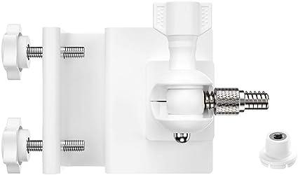 KKmoon Gutter Mount Bracket Soporte ajustable para la protección con adaptador Blink XT 1/4 para Blink XT Camera Soporte de montaje Outdoor Indoor para la seguridad doméstica, blanco: Amazon.es: Electrónica
