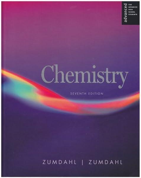 Amazon Com Chemistry Ap Edition 9780618713707 Zumdahl Steven S Zumdahl Susan A Books