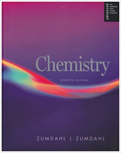 Chemistry seventh 7th edition by zumdahl textbook | ebay.