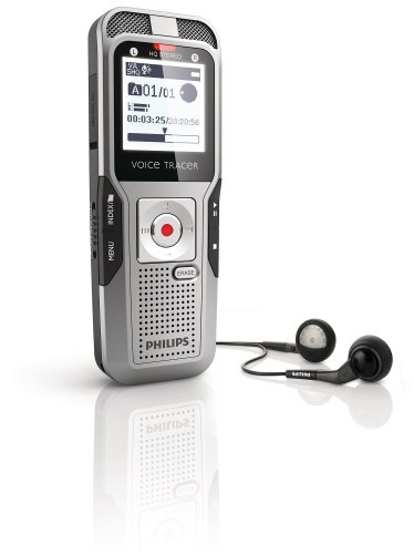 Philips DVT3000/00 2 GB Digital Voice Tracer and Recorder