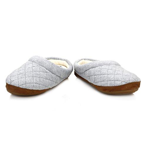 Polo Ralph Lauren Jacque Quilt Scuff Damen Hausschuhe Blau 992758 Grey