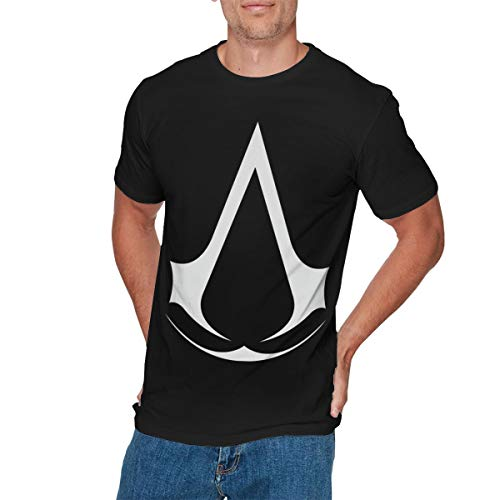 EVIE GOULD Mens Vintage Assassin Creed Video Game Series T Shirts L Black