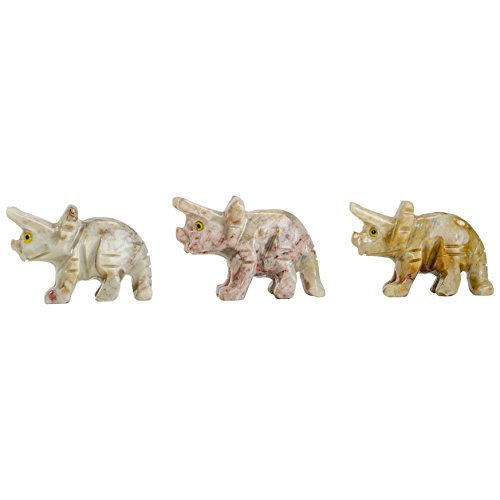 Digging Dolls : 10 pcs Artisan Bronto Collectable Animal Figurine - Party Favors, Stocking Stuffers, Gifts, Collecting and More! by Digging Dolls