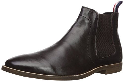 Ben Sherman Men's Gaston Chelsea Boot, Dark Brown, 9 M US