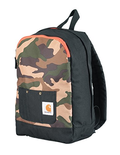 Carhartt Junior Kids' Bib-Pocket Backpack, Camo Print