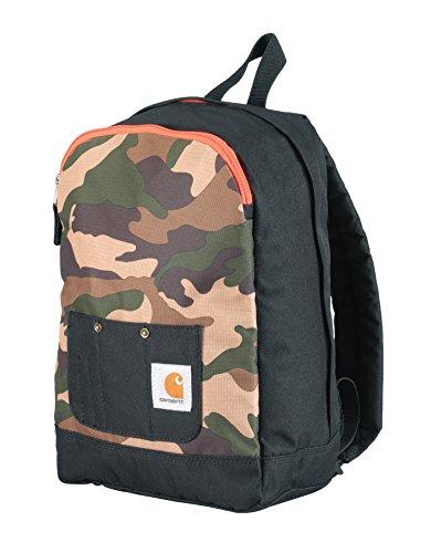 Carhartt Junior Kids' Bib-Pocket Backpack, Camo Print