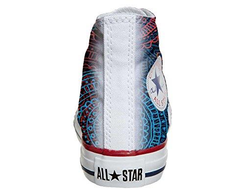 Converse All Star Customized - Zapatos Personalizados (Producto Artesano) Back Groud Paisley