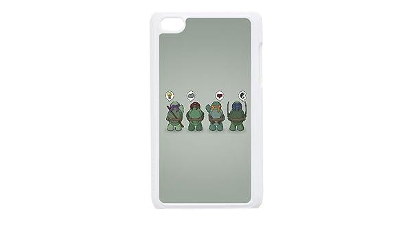 iPod Touch 4 Case White Ninja Turtles Vector SLI_497835 ...