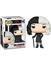Funko 54466 POP Disney: Cruella- Cruella in Checkered Black