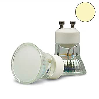 Foco Isolicht GU10 MINI-LED 1,8 W, 120 °, Color, luz blanca cálida