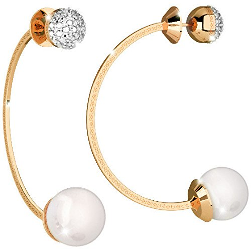 Boucles d'oreilles Femme Bijoux Rebecca Hollywood Pearl Trendy Cod. bhoooo45