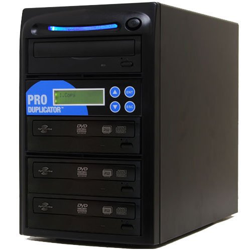 UPC 837654814505, Produplicator 1 to 3 LightScribe 24X CD DVD Duplicator (Standalone Duplication Tower) with Nero Essentials Burning Software - Copier Replication Recorder Burner (LS 1-03)