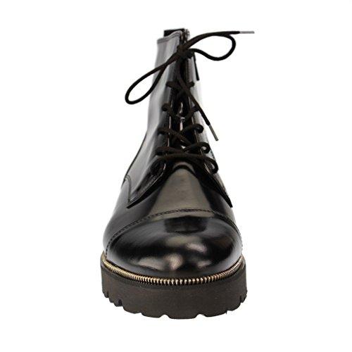 GABOR - Damen Boots - Schwarz Schuhe in Übergrößen