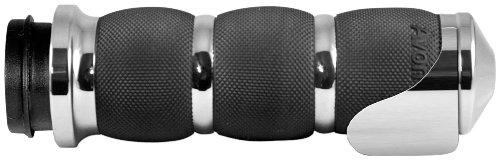 Avon Grips Chrome Air Cushion Grips with Throttle Assist AIR-90-BOSS ()