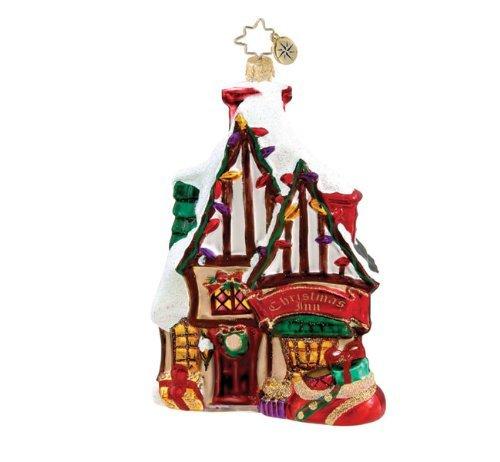 Christopher Radko Dickens Village Christmas Inn Ornamnt