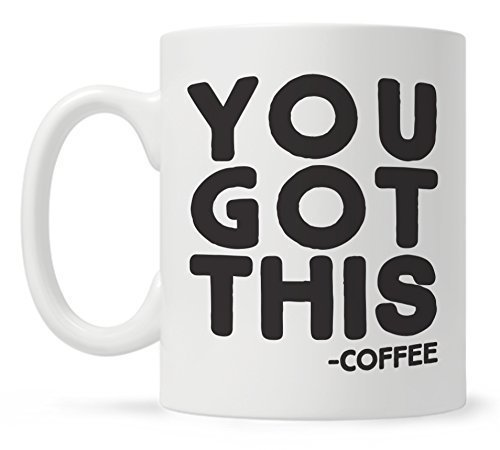 You Got This Funny Quote Coffee Mug Funny Gift for Coworker Friend Motivational Mug Fun Mugs