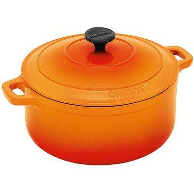 5.5-Qt. Casserole with Lid Color: Orange Flame (5.5 Quart Round Casserole)