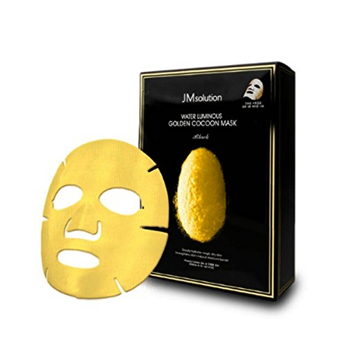 - JMsolution Water Luminuous Golden Cocoon Mask Black 45g x 10ea