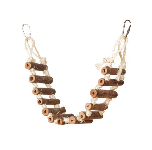 - Prevue Hendryx 62806 Naturals Rope Ladder Bird Toy