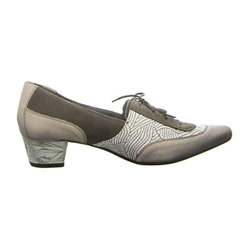 Maciejka 02794-03005 - Zapatos de cordones para mujer Grau Kombiniert