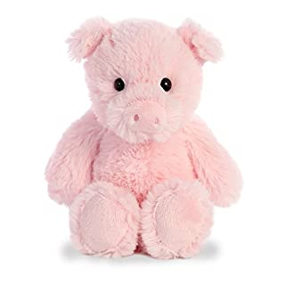 "Aurora - Cuddly Friends - 8"" Pig"
