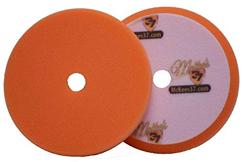 McKee's 37 MK37-22675-1610 Redline Orange Foam Polishing Pad, 6.75 Inch