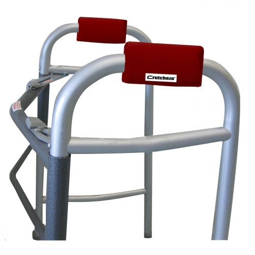Crutcheze Atomic Red Walker Padded Hand  - Walker Grip Covers Shopping Results