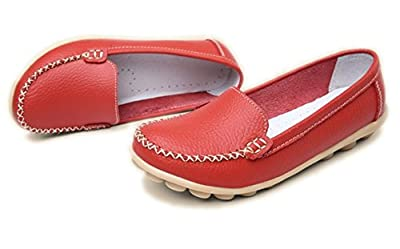 YINHAN® Women's Casual Driving Loafers Slip On Boat Shoes Flats