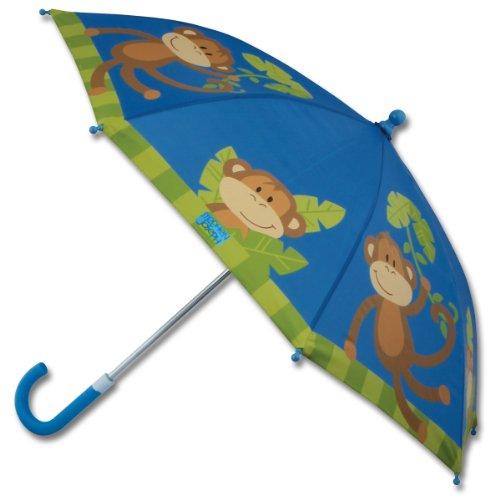 Stephen Joseph Boys' Umbrella, Monkey (Toddler Monkey Rain Boots)